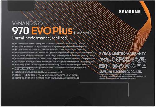 Накопитель SSD Samsung PCI-E x4 500Gb MZ-V7S500BW 970 EVO Plus M.2 2280 фото 6