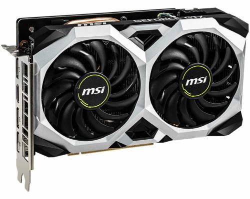 Видеокарта MSI PCI-E GTX 1660 VENTUS XS 6G OC nVidia GeForce GTX 1660 6144Mb 192bit GDDR5 1530/8000/HDMIx1/DPx3/HDCP Ret фото 2