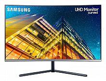 """Монитор Samsung 31.5"""" U32R590CWI черный VA LED 16:9 HDMI матовая 2500:1 250cd 178гр/178гр 3840x2160 DisplayPort Ultra HD 5.5кг"""