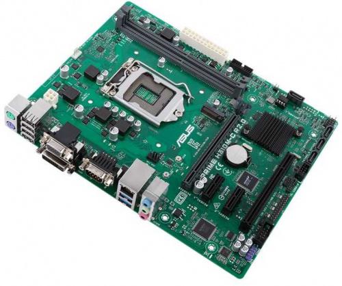 Материнская плата Asus PRIME H310M-C R2.0 Soc-1151v2 Intel H310C 2xDDR4 mATX AC`97 8ch(7.1) GbLAN+VGA+DVI фото 3