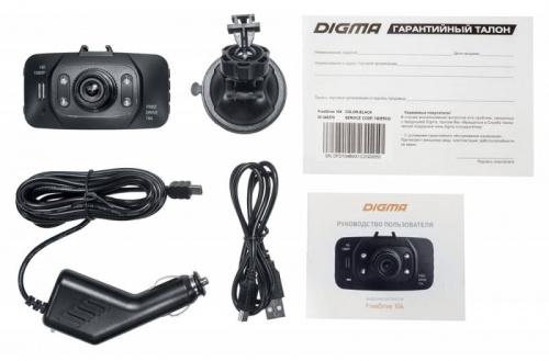 Видеорегистратор Digma FreeDrive 104 черный 1Mpix 1080x1920 1080p 140гр. GP1248 фото 9