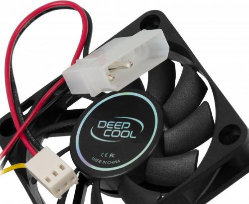 Вентилятор Deepcool XFAN 60 60x60x12mm 3-pin 4-pin (Molex)24dB Ret фото 4