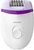 Эпилятор Philips BRE225/00 скор.:2 от электр.сети белый/фиолетовый