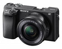 "Фотоаппарат Sony Alpha A6400LB черный 24.2Mpix 3"" 4K WiFi E PZ 16-50мм f/3.5-5.6 OSS NP-FW50 (с объективом)"