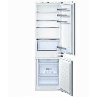 Холодильник Bosch KIN86VF20R серебристый (двухкамерный)