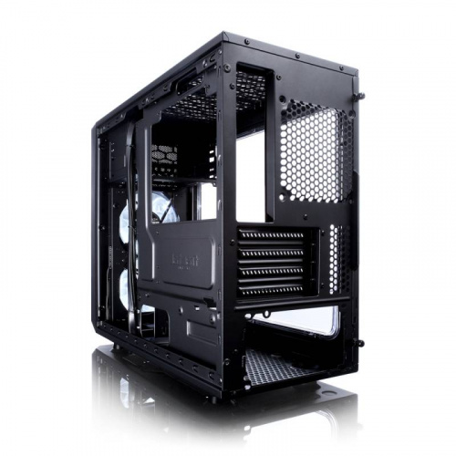 Корпус Fractal Design FOCUS G MINI Window черный без БП mATX 6x120mm 1x140mm 1xUSB2.0 1xUSB3.0 audio bott PSU фото 2