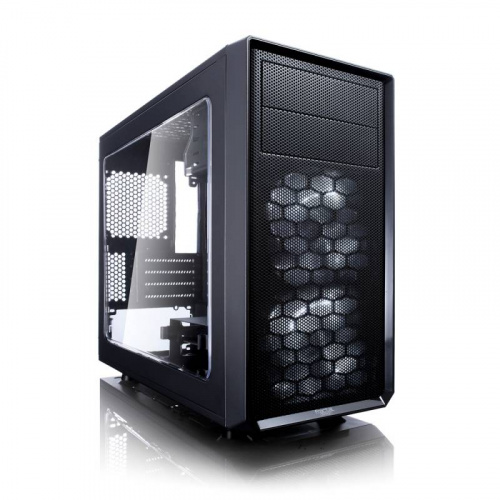 Корпус Fractal Design FOCUS G MINI Window черный без БП mATX 6x120mm 1x140mm 1xUSB2.0 1xUSB3.0 audio bott PSU фото 3