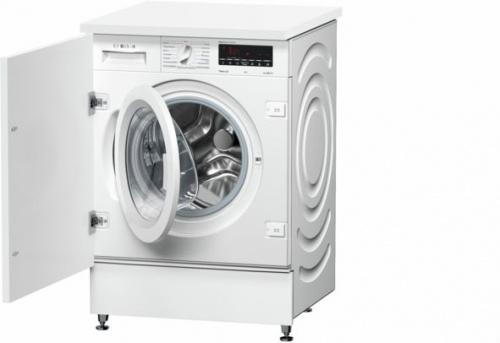 Стиральная машина Bosch WIW28540OE класс:A-30% загрузка до 8кг отжим:1400об/мин белый фото 2
