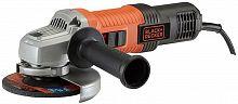 Углошлифовальная машина Black & Decker G850-RU 850Вт 12000об/мин рез.шпин.:M14 d=125мм