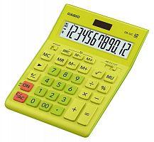 Калькулятор настольный Casio GR-12C-GN салатовый 12-разр.