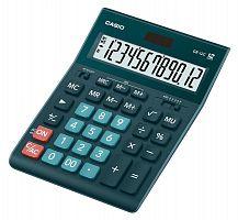Калькулятор настольный Casio GR-12C-DG темно-зеленый 12-разр.