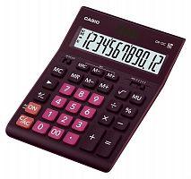 Калькулятор настольный Casio GR-12C-WR бордовый 12-разр.