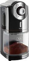 Кофемолка Melitta Molino 100Вт сист.помол.:ротац.нож вместим.:200гр черный