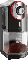 Кофемолка Melitta Molino 100Вт сист.помол.:жернова вместим.:200гр черный/красный