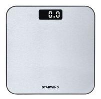 Весы напольные электронные Starwind SSP6010 макс.180кг серебристый