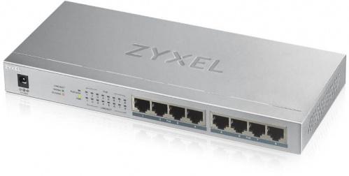Коммутатор Zyxel GS1008HP-EU0101F 8G 8PoE+ 60W неуправляемый