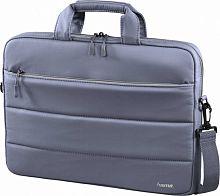 """Сумка для ноутбука 14.1"""" Hama Toronto серый/голубой полиэстер (00101910)"""