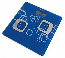Весы напольные электронные Sinbo SBS 4448 макс.180кг синий/белый
