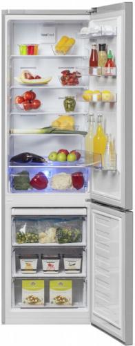 Холодильник Beko RCNK321E20X серебристый (двухкамерный) фото 2