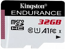 Флеш карта microSDHC 32Gb Class10 Kingston SDCE/32GB High Endurance w/o adapter