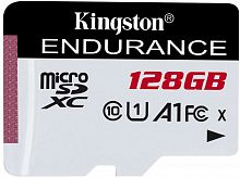 Флеш карта microSDXC 128Gb Class10 Kingston SDCE/128GB High Endurance w/o adapter