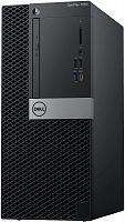 ПК Dell Optiplex 7060 MT i7 8700 (3.2)/8Gb/1Tb 7.2k/UHDG 630/DVDRW/Windows 10 Professional/GbitEth/200W/клавиатура/мышь/черный/серебристый