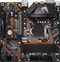 Материнская плата Gigabyte B365 M AORUS ELITE Soc-1151v2 Intel B365 4xDDR4 mATX AC`97 8ch(7.1) GbLAN+DVI+HDMI+DP