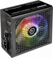 Блок питания Thermaltake ATX 550W Litepower RGB 550 (24+4+4pin) APFC 120mm fan color LED 5xSATA RTL