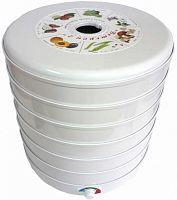 Сушка для фруктов и овощей Спектр-Прибор Ветерок-2 6под. 600Вт белый