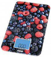 Весы кухонные электронные BBK KS107G макс.вес:5кг рисунок/ягоды