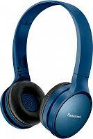 Гарнитура накладные Panasonic RP-HF410BG синий беспроводные bluetooth (оголовье)
