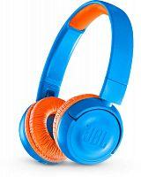 Наушники накладные JBL JR300 BT 1.2м синий беспроводные bluetooth оголовье (JBLJR300BTUNO)