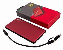 Мобильный аккумулятор GP Portable PowerBank MP05 Li-Pol 5000mAh 2.1A+2.1A красный 2xUSB