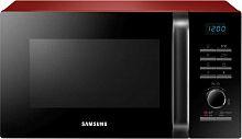 Микроволновая Печь Samsung MG23H3115QR/BW 23л. 800Вт красный/черный