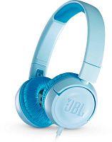 Наушники накладные JBL JR300 1м синий проводные (оголовье)