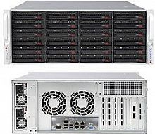 Корпус SuperMicro CSE-846BE1C-R1K23B 2x1200W черный