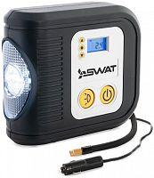 Автомобильный компрессор Swat SWT-412 шланг 0.5м
