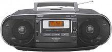 Аудиомагнитола Panasonic RX-D55EE-K черный 20Вт/CD/CDRW/MP3/FM(dig)/USB