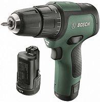 Дрель-шуруповерт ударная Bosch EasyImpact 12 аккум. патрон:быстрозажимной (кейс в комплекте)