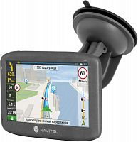 "Навигатор Автомобильный GPS Navitel E505 Magnetic 5"" 480x272 8Gb microSDHC черный Navitel"