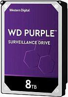 "Жесткий диск WD Original SATA-III 8Tb WD82PURZ Purple (7200rpm) 256Mb 3.5"""
