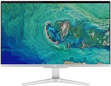 "Моноблок Acer Aspire C27-865 27"" Full HD i5 8250U (1.6)/4Gb/1Tb 5.4k/MX130 2Gb/CR/Windows 10 Home/GbitEth/WiFi/BT/135W/клавиатура/мышь/серебристый/черный 1920x1080"