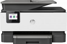 МФУ струйный HP Officejet Pro 9010 AiO (3UK83B) A4 Duplex WiFi USB RJ-45 белый/серый