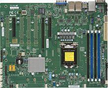 Материнская Плата SuperMicro MBD-X11SSi-LN4F-O Soc-1151 iC236 ATX 4xDDR4 6xSATA3 SATA RAID i210AT 2хGgbEth Ret