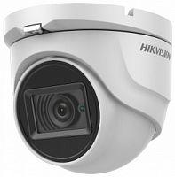 Камера видеонаблюдения Hikvision DS-2CE76H8T-ITMF 6-6мм HD-CVI HD-TVI цветная корп.:белый