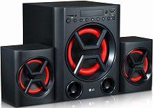 Минисистема LG LK72B черный 30Вт/FM/USB/BT/SD
