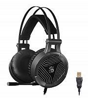 Наушники с микрофоном A4Tech Bloody G530 черный/серый 1.8м мониторные оголовье (G530)