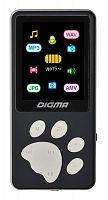 "Плеер Hi-Fi Flash Digma S4 8Gb черный/серый/1.8""/FM/microSDHC"