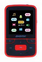 """Плеер Hi-Fi Flash Digma T4 8Gb черный/красный/1.5""""/FM/microSDHC/clip"""