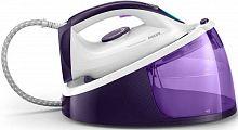 Паровая станция Philips FastCare Compact GC6730/30 2400Вт фиолетовый/белый